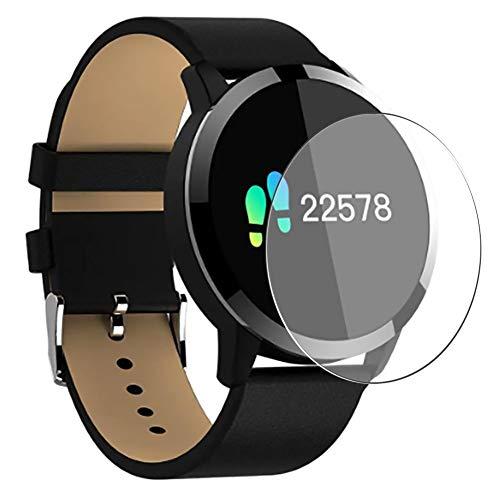 Vaxson 3 Stück Schutzfolie, kompatibel mit OUKITEL W1 Smartwatch smart watch, Displayschutzfolie TPU Folie [ nicht Panzerglas ]