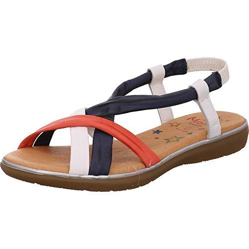Marila Colours Sandalen mit Keilabsatz in Größe 37, wie NEU!