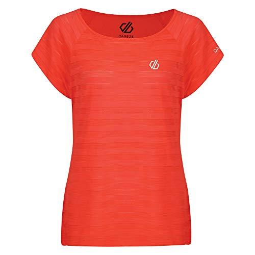 Dare 2b - Running-T-Shirts für Damen in Coral, Größe Einheitsgröße