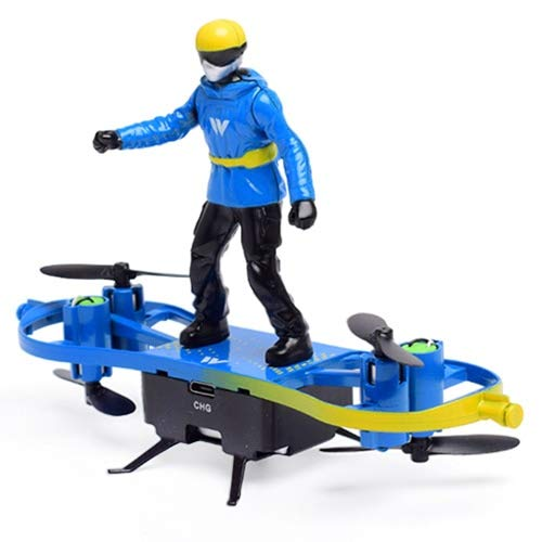 HaiMa F5 Skateboard Parachute Drone - Dodger Blue