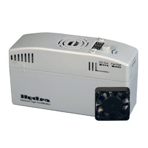 Hydra Personal Series Electronic Cigar Humidifier, Premium Quality, Large LED, Automatically Regulates Humidity