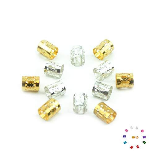 Urembo Gold Perle en aluminium pour cheveux