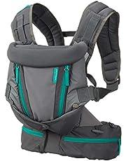 Infantino Carry On Carrier - Ergonomisch, uitbreidbaar, face-in en face-out, voor- en achterkant dragen voor pasgeborenen en oudere baby's 3,6-14 kg