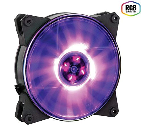 Cooler Master MasterFan Pro 120 Air Pressure RGB Carcasa del ordenador, Ventilador de PC, Carcasa del ordenador, 12 cm, 650 RPM, 1500 RPM, 6 dB