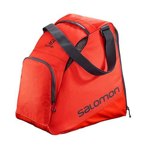 Salomon, Skischuh-Rucksack EXTEND GEARBAG, Rot (Cherry Red)/Dunkelgrau (Ebony), LC1170200