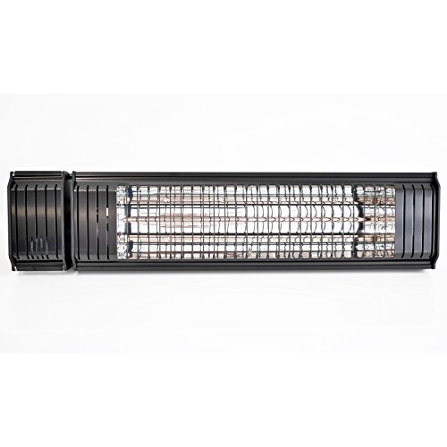 VASNER Appino 20 Infrarot Heizstrahler Terrasse schwarz, 2000 Watt, Fernbedienung + App Steuerung Bluetooth, Terrassenstrahler Außenbereich, Bad, Infrarotstrahler, elektrisch - 4