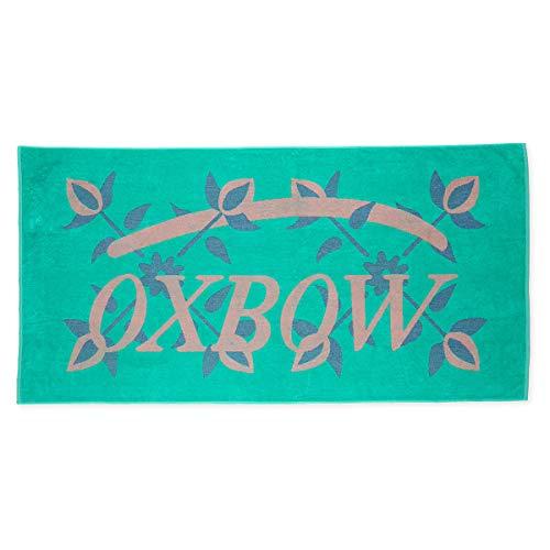 Oxbow N1INTIGUA - Toalla de playa jacquard para hombre, talla única, color azul