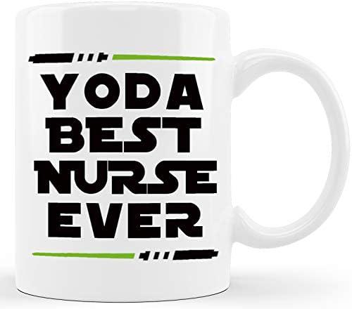 Yoda Best Nurse Funny Nurse Gifts Gift Ideas for Hospital Registered Nurse Practitioner Assistant product image
