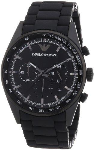 Emporio Armani Herren-Armbanduhr XL Chronograph Quarz Edelstahl AR5981