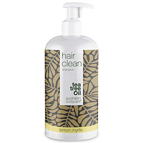 Australian Bodycare Teebaumöl Shampoo 500ml | Tea Tree Oil und Lemon Myrtle | Anti-Schuppen, Juckende, Trockene Kopfhaut | Auch zur Kopfhautpflege bei Schuppenflechte, Ekzemen, Neurodermitis & Pickeln
