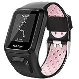 Keweni Compatible avec Le Bracelet Tomtom, Bracelet de Montre en Silicone de...