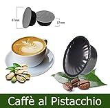 KICKKICK® 50 Capsule Caffè al Pistacchio Compatibili Lavazza A Modo Mio...
