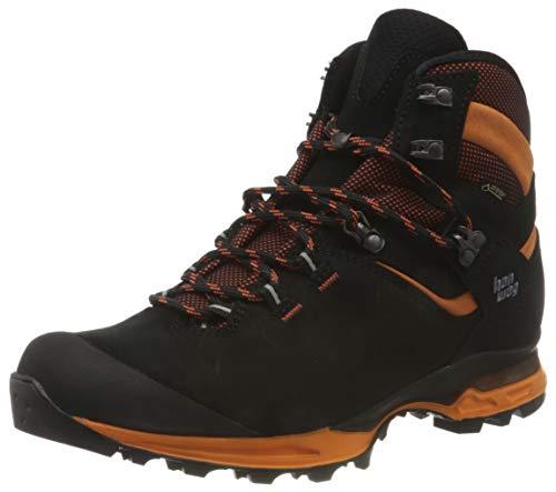 Hanwag 202500-012023 Tatra Light GTX Black/Orange/ Herren Trekkingschuhe Schwarz/Freizeit/ Gore-Tex, Grösse:40.5 (7 UK)
