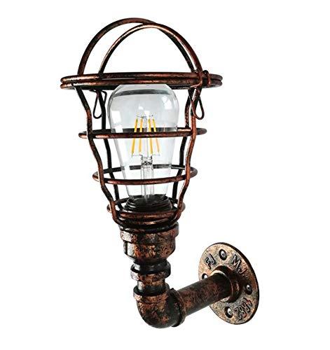 CHUANGJIE industriële wandlampen, retro, Europese persoonlijkheid, steampunk, hal, slaapkamer, wandlamp, binnenplaats, buiten, waterdichte balkonlamp van smeedijzer