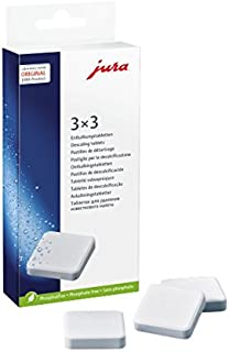 Jura 66281 Decalcifying/Descaling Tablets (9 tablets)