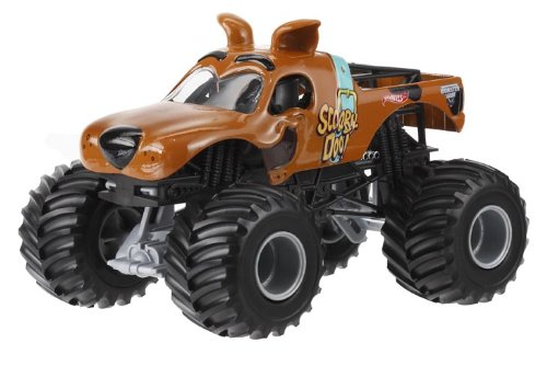 Hot Wheels Monster Jam Scooby Doo Die-Cast Vehicle, 1:24 Scale by Hot Wheels
