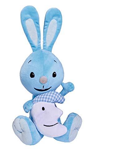 Simba 109461001 Kikaninchen aus kuschelweichem Plüsch mit leuchtendem Mond im Arm / 35cm / Für Kinder ab den ersten Lebensmonaten geeignet