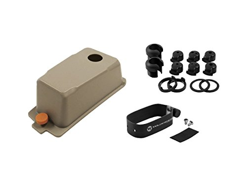 Wilderness Systems Fish Finder Install Kit for Kayaks - Fits Large Scupper on Tarpon 130X and ATAK 120