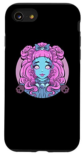 iPhone SE (2020) / 7 / 8 Pastel Goth Porcelain Doll Crying Tears Case -  Pastel Goth Porcelain Doll Crying Tears Designs