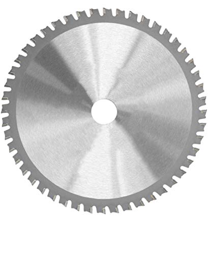 Corintian Kreissägeblatt für Metall 210 mm - Sägeblatt zum Sägen von Stahl, Baustahl, Aluminium, Edelstahl, Kupfer, Blech, Messing, Kunststoff etc.