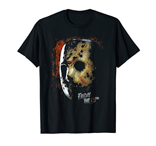 Friday the 13th Mask of Death T Shirt