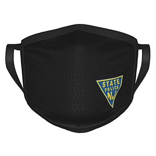 Nj State Police Unisex Washable Masks Mouth Cover For Man