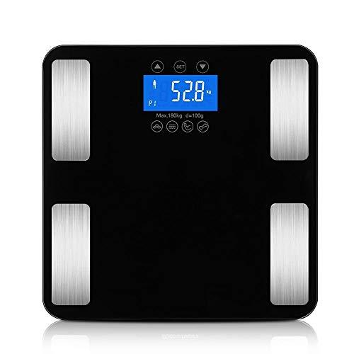 Smart Touch Gewicht Meet 400 lb / 0,1 kg Digitale weegschaal Track Lichaamsgewicht BMI Vet Water Calorieën Spier Botmassa Personenweegschaal
