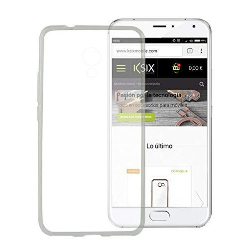 Custodia per cellulare Meizu M3 Note Flex TPU ultra sottile trasparente