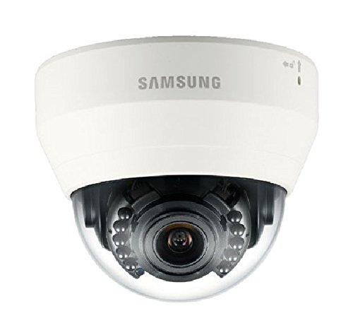 Samsung SNVL5083RP Dome IP-Kamera für den Außenbereich, Winddicht, 1,3 MP, Wisenet Lite, 3-10 mm, IR 20 M, Icr 90/270 °, SD, Poe, Weiß