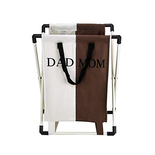 Cesta de lavandería de tela Oxford, cesta de almacenamiento Bolsa de almacenamiento impermeable y plegable, cesta de cesta de ropa sucia