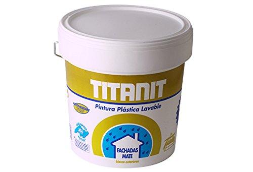 Titan Wandfarbe Titanit Fassade ziegelrot 4L