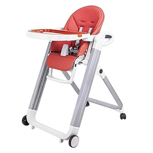 Read About CHENNAO Highchair Comfortable Folded Feeding Chair with Detachable Tray Adjustable Height...