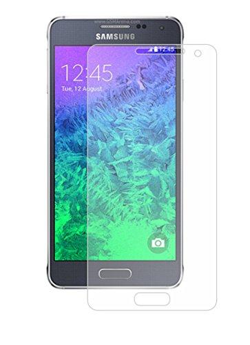 Membrane 3 x Pellicola Protettiva Compatibile con Samsung Galaxy Alpha (SM-G850, G850A, G850T, G850M, G850Y, G850FQ, G850F) - Trasparente
