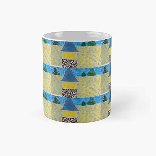 Taza clásica de The Roof   El mejor regalo divertidas tazas de café de 325 ml