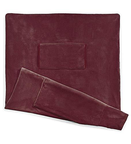 Sunbeam Heated Throw Blanket | Dual Pocket Microplush, 3 Heat Settings,...