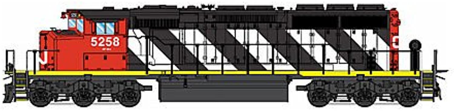 Intermountain Gauge H0 Locomotive SD40-2W with DCC Canadian National