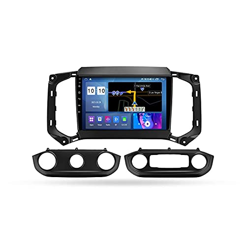 Android 10.0 Car Stereo Radio Doble DIN para Chevrolet Trailblazer 2017-2019 Navegación GPS Reproductor Multimedia de 9 '' Receptor de Video Bluetooth con 4G / 5G WiFi SWC DSP USB Carplay