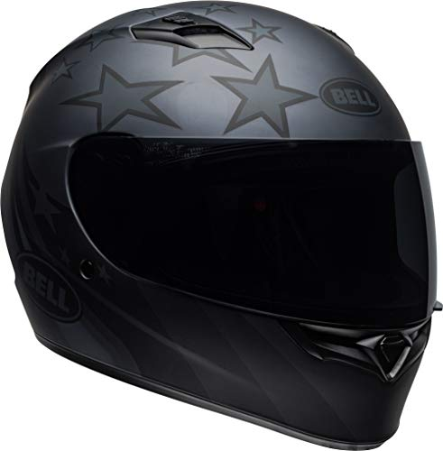 Bell Qualifier Full-Face Motorcycle Helmet (Honor Matte Titanium/Black, X-Large)
