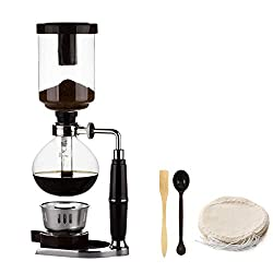 top 10 siphon coffee makers Japanese style siphon coffee maker Siphon kettle Vacuum coffee maker Glass coffee maker …