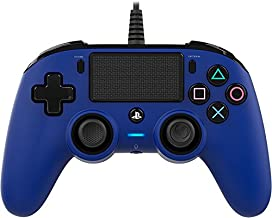 Nacon Wired Compact Controller for PlayStation 4 - Blue