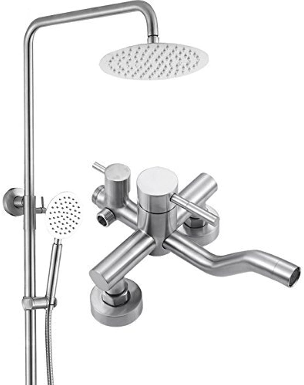 Dusche Edelstahl Dusche führenden Regendusche Wasserhahn eingerichtet Dusche Dusche
