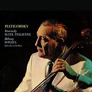 Stravinsky / Suite Italienne & Debussy / Sonata For Cello And Piano In D Minor