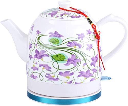 Bouilloires en céramique bouilloire électrique sans fil eau Teapot, Teapot-rétro 1.2L Jug rapide (Couleur: B) 8bayfa (Color : B)