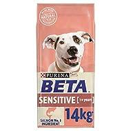 BETA Sensitive Adult Dry Dog Food Salmon 14 kg