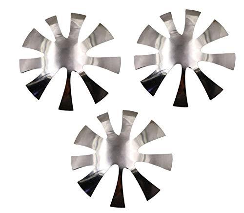 HAVAJ Cortador de uñas placa de manicura francesa, fácil herramienta de manicura en forma de acero inoxidable, kit de moldes de gel acrílico para bricolaje
