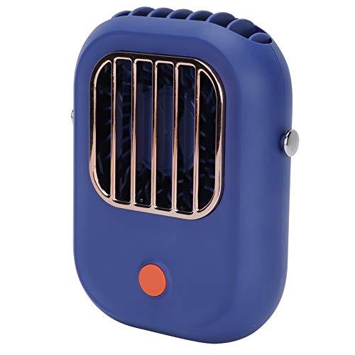 COHU Mini Ventilador, Ventilador de Escritorio USB portátil de 3 velocidades para Colgar en el Cuello con Viento Fuerte para Viajes al Aire Libre para Coche de Oficina en casa