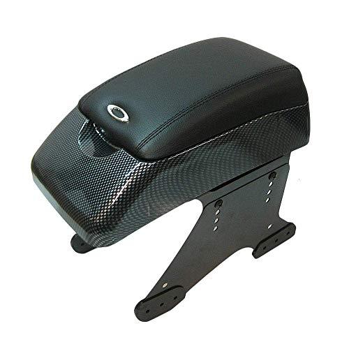Autohobby 48015 Mittelarmlehne Armlehne Universal Konsole Mittelkonsole Kunstleder Aufbewahrungsbox Carbon A B C G H J CC 3 4 5 6 7