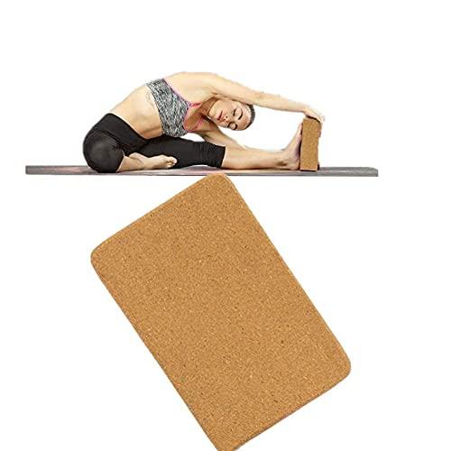 Bloque De Yoga Corcho Corcho Bloque De Yoga Bloques De Yoga Juego De Bloques De Yoga Kit De Inicio De Yoga Bloque De Espuma De Alta Densidad Juego De Yoga Bloques De Soporte De Yoga 1Pc,