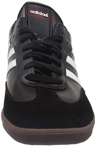 Adidas Samba Classic, Schwarz-weiß, Zapatillas de Fútbol Hombre, Negro (Black/Running White), 44 2/3 EU