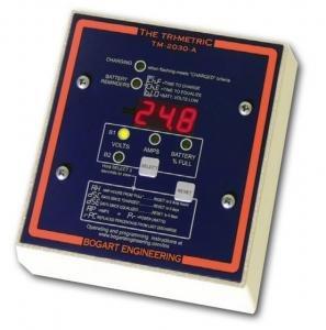 Bogart TriMetric TM-2030-A-F 12/24/48V Battery Meter w/ Fuse